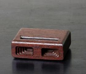 iPhone 5 Dock in Jarrah
